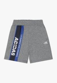 adidas Performance - SHORT - Sportovní kraťasy - mottled grey - 0