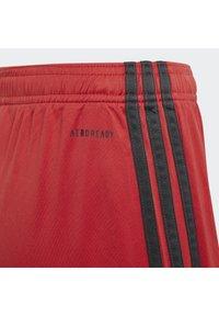 adidas Performance - DEUTSCHLAND DFB TORWART HEIMSHORTS - Träningsshorts - glory red - 4