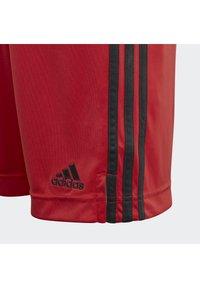 adidas Performance - DEUTSCHLAND DFB TORWART HEIMSHORTS - Träningsshorts - glory red - 2