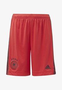 adidas Performance - DEUTSCHLAND DFB TORWART HEIMSHORTS - Korte broeken - glory red - 0