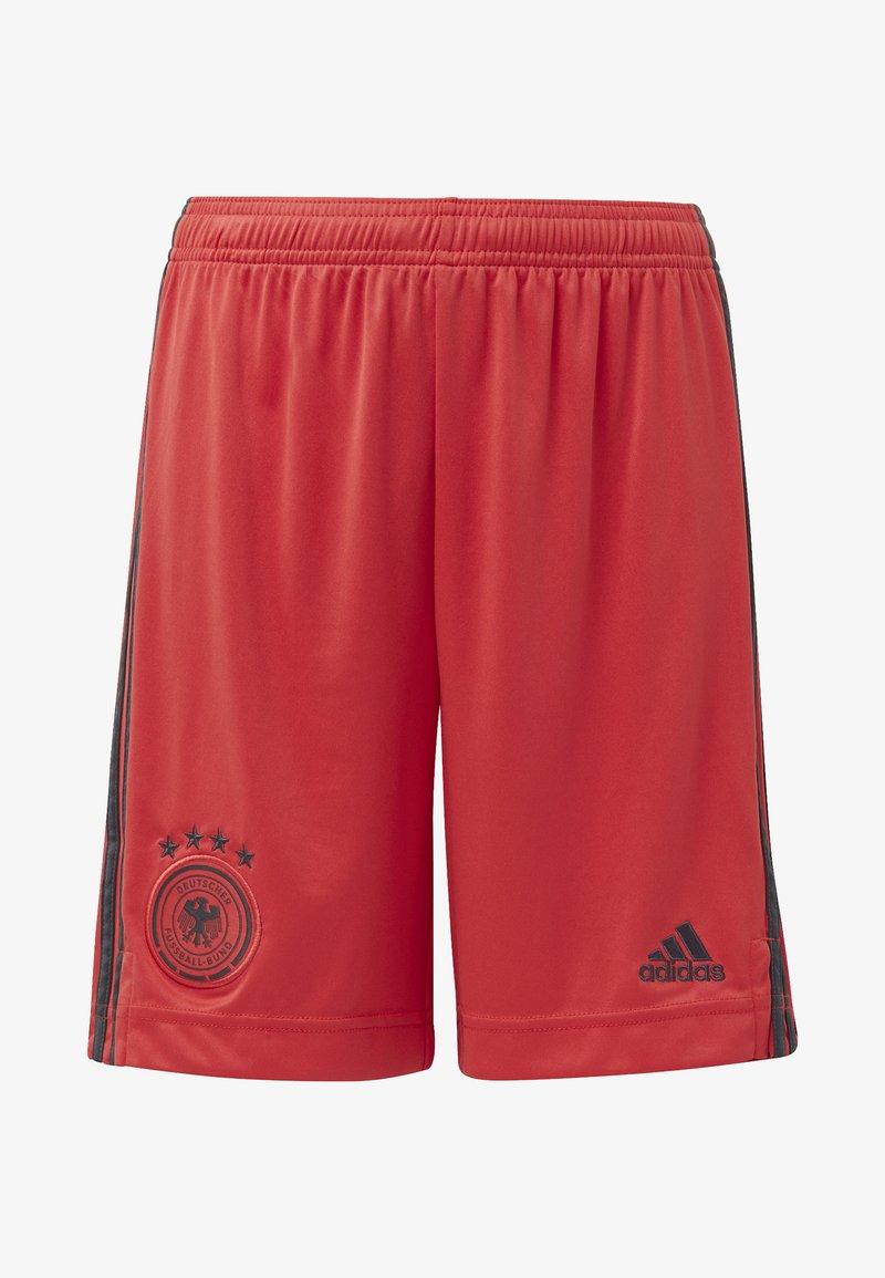 adidas Performance - DEUTSCHLAND DFB TORWART HEIMSHORTS - Träningsshorts - glory red