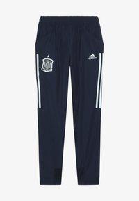 adidas Performance - SPAIN FEF PRESENTATION PANTS - Teplákové kalhoty - collegiate navy - 3