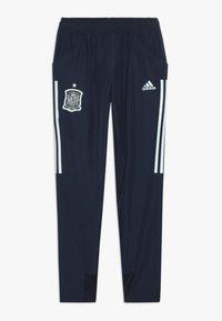adidas Performance - SPAIN FEF PRESENTATION PANTS - Teplákové kalhoty - collegiate navy - 0