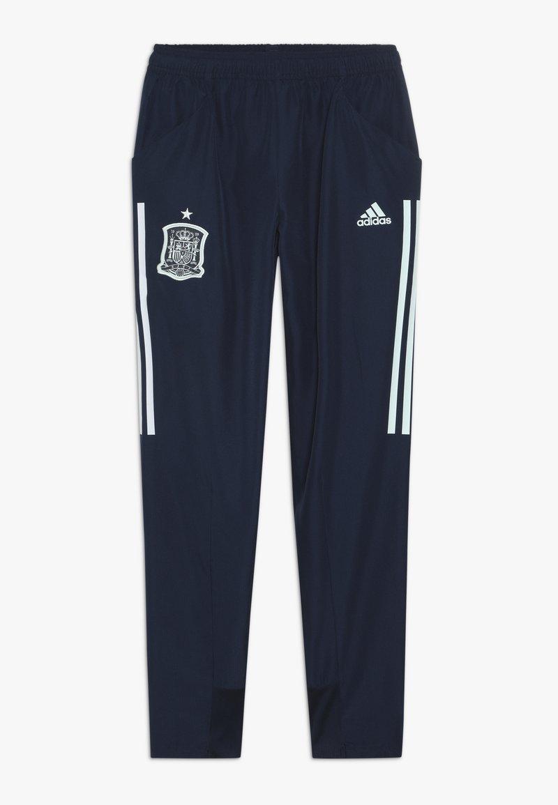 adidas Performance - SPAIN FEF PRESENTATION PANTS - Teplákové kalhoty - collegiate navy
