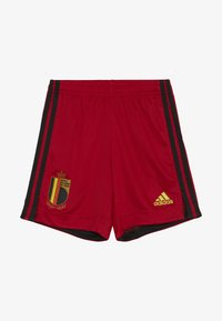 adidas Performance - BELGIUM RBFA HOME SHORTS - Pantaloncini sportivi - collegiate red - 2