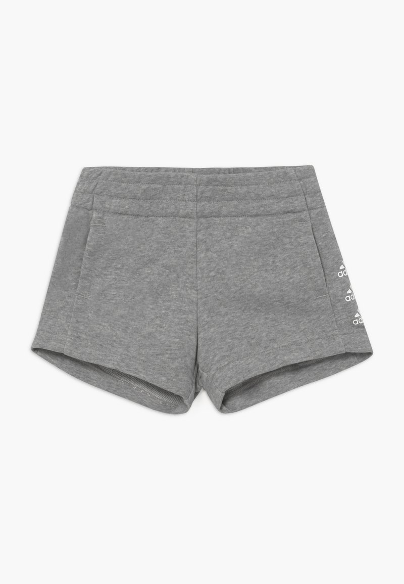 adidas Performance - SHORT - Sports shorts - medium grey heather/white