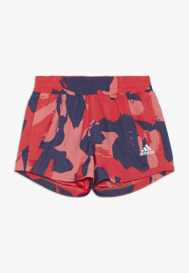 SHORT - Pantalón corto de deporte - pantone/core pink/tech indigo