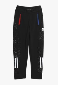 adidas Performance - PANT - Pantalon de survêtement - black/white - 0