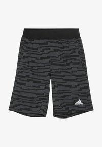 adidas Performance - Sportovní kraťasy - black/gresix - 3