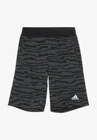 adidas Performance - Sportovní kraťasy - black/gresix - 0