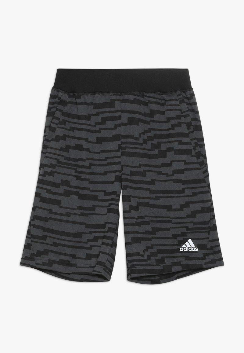 adidas Performance - Sportovní kraťasy - black/gresix