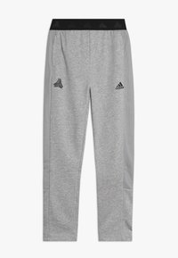 adidas Performance - TIRO - Pantalon de survêtement - medium grey heather/black - 0