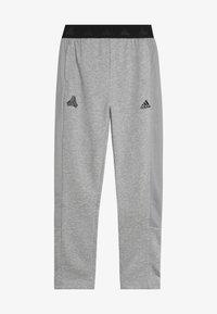 adidas Performance - TIRO - Pantalon de survêtement - medium grey heather/black - 3