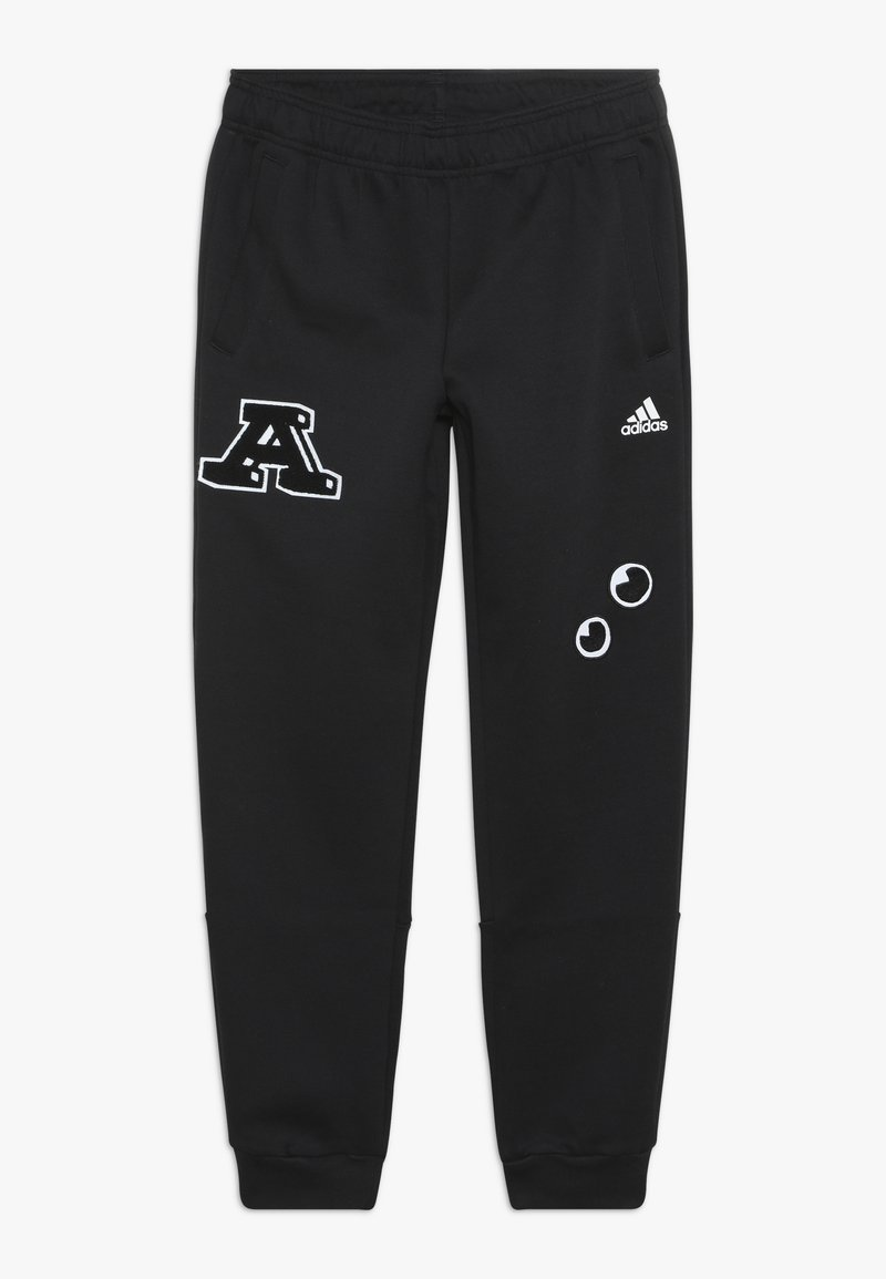 adidas Performance - PANT - Teplákové kalhoty - black/white