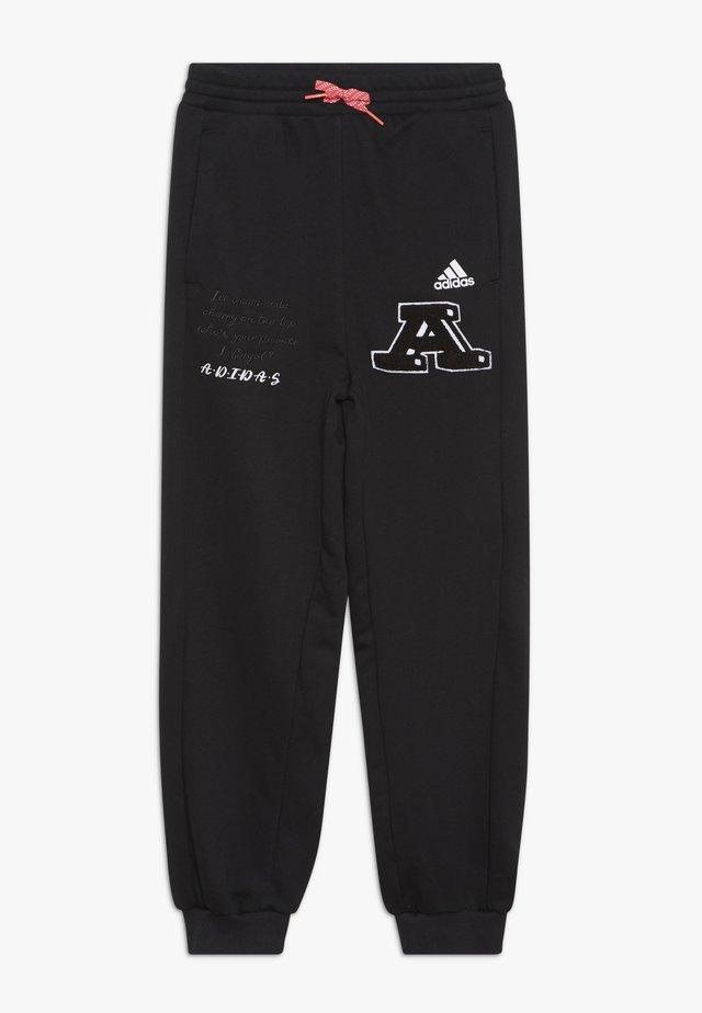 PANT - Pantalones deportivos - black/white