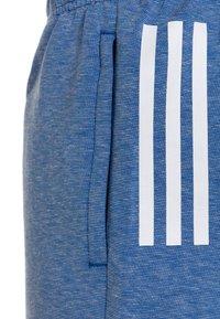 adidas Performance - Sportovní kraťasy - blue melange - 2