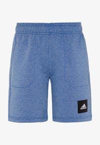 adidas Performance - Sportovní kraťasy - blue melange - 0