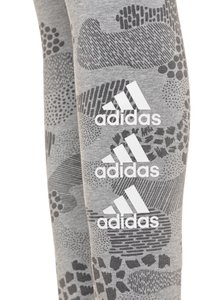 adidas Performance - TIGHT - Legging - mid grey heather/grey four/white - 2