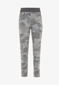 adidas Performance - TIGHT - Legging - mid grey heather/grey four/white - 0