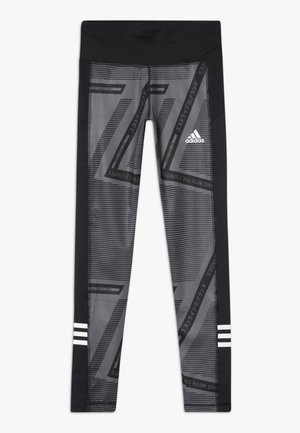 Legginsy - grey six/black/white