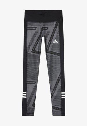 Punčochy - grey six/black/white