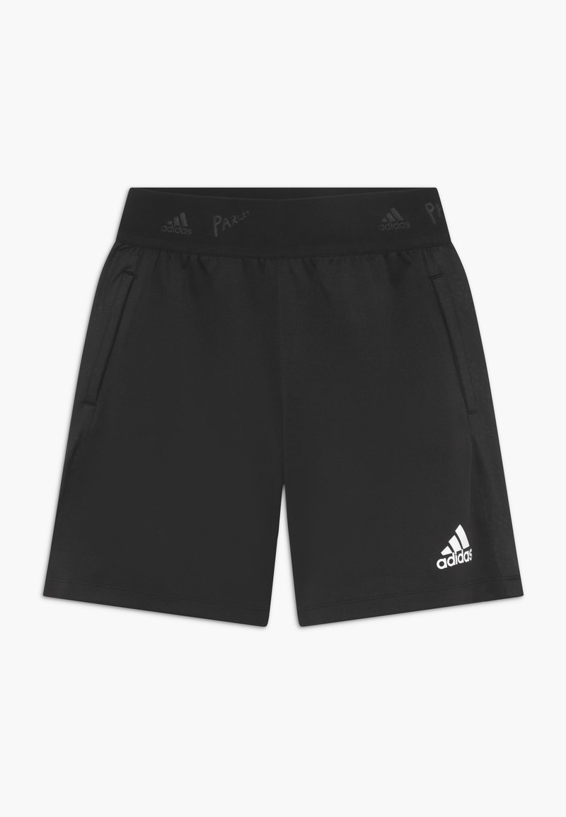 adidas Performance - Sports shorts - black/white