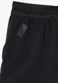 adidas Performance - Krótkie spodenki sportowe - black/white - 4