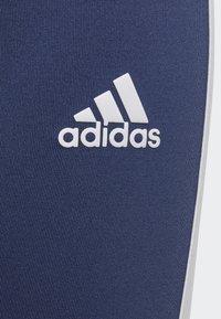 adidas Performance - TRAINING EQUIPMENT 3-STRIPES LEGGINGS - Collants - indigo - 4
