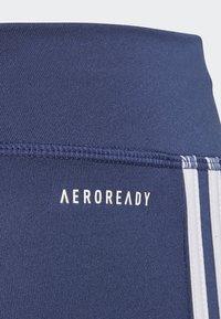 adidas Performance - TRAINING EQUIPMENT 3-STRIPES LEGGINGS - Collants - indigo - 2