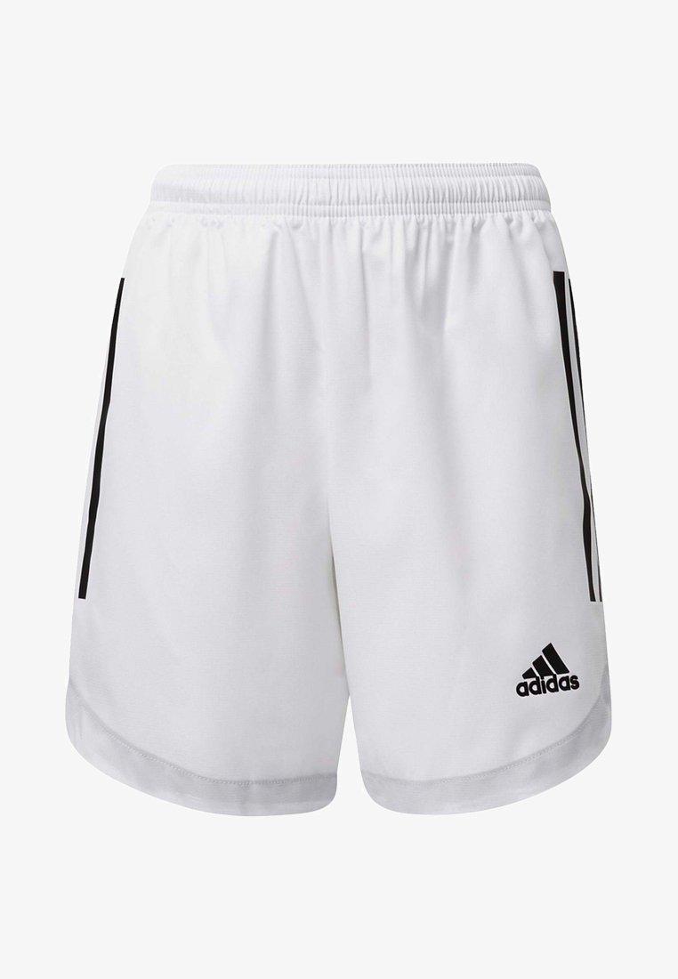 adidas Performance - CONDIVO 20 SHORTS - Träningsshorts - white