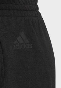 adidas Performance - KNIT SHORTS - Korte broeken - black - 4