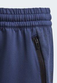 adidas Performance - MESSI SHORTS - Sports shorts - blue/white - 4