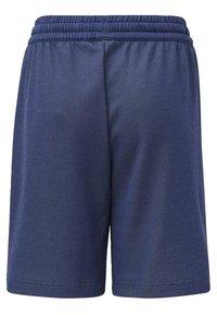adidas Performance - MESSI SHORTS - Sports shorts - blue/white - 1