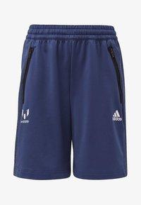 adidas Performance - MESSI SHORTS - Sports shorts - blue/white - 0