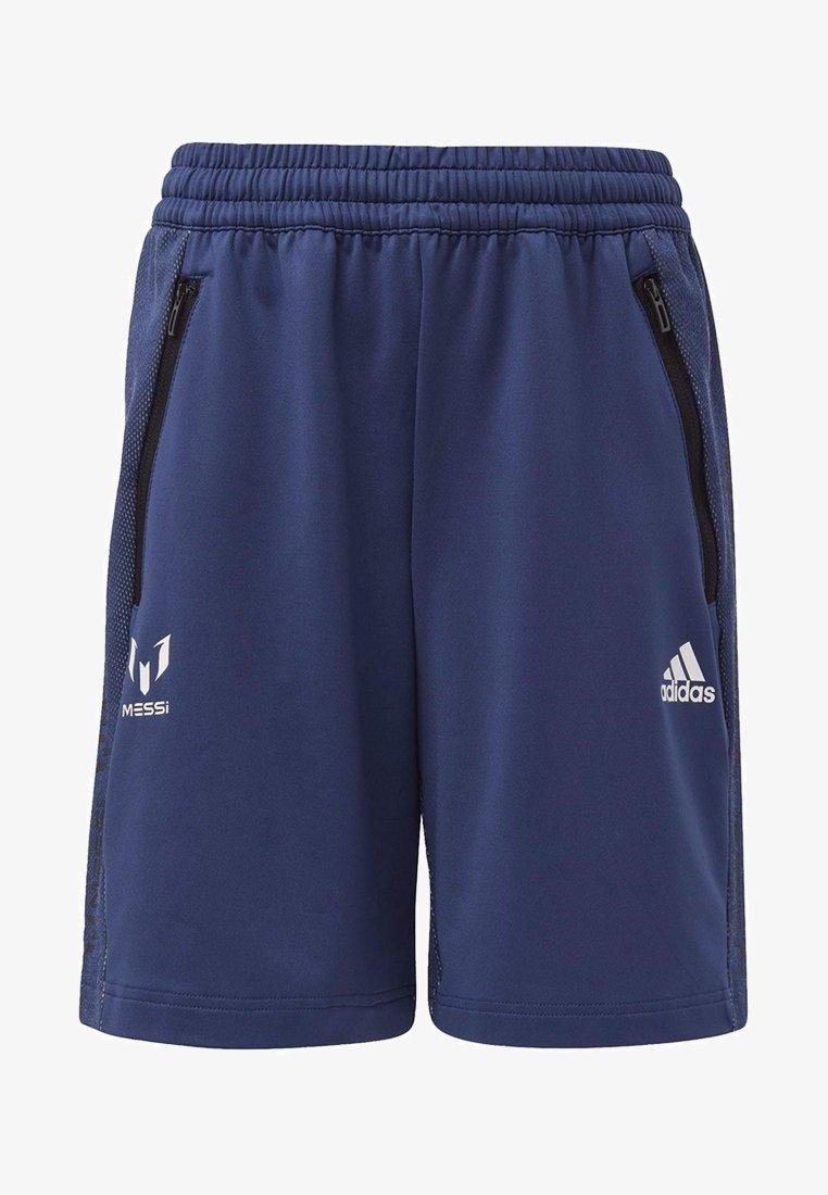 adidas Performance - MESSI SHORTS - Sports shorts - blue/white
