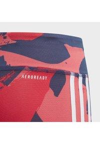 adidas Performance - EQUIPMENT 3/4 LEGGINGS - 3/4 sports trousers - grey/pink/blue - 3
