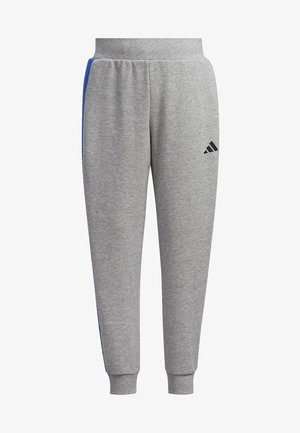 FRENCH TERRY KNIT JOGGERS - Tracksuit bottoms - grey