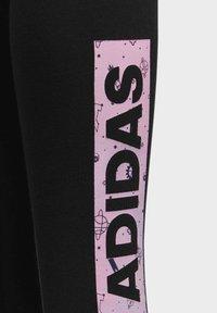 adidas Performance - STYLE COMFORT LEGGINGS - Leggings - black - 3