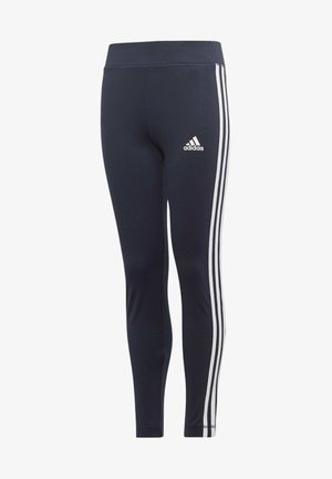 TRAINING EQUIPMENT 3-STRIPES LEGGINGS - Tracksuit bottoms - blue/white