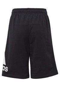 adidas Performance - MUST HAVES BADGE OF SPORT SHORTS - Pantaloncini sportivi - black - 1