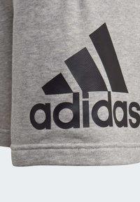 adidas Performance - MUST HAVES BADGE OF SPORT SHORTS - Korte broeken - gray - 4