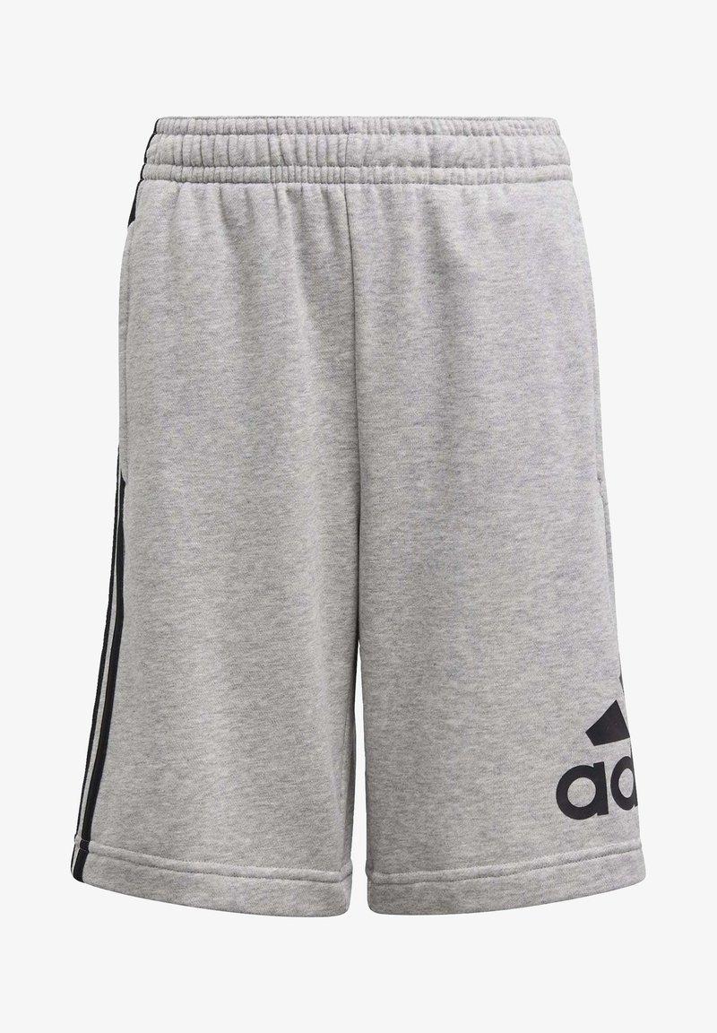 adidas Performance - MUST HAVES BADGE OF SPORT SHORTS - Korte broeken - gray