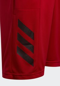 adidas Performance - SPORT 3-STRIPES SHORTS - Sports shorts - red - 3