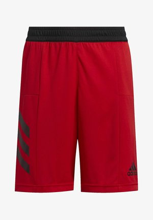 SPORT 3-STRIPES SHORTS - Pantaloncini sportivi - red