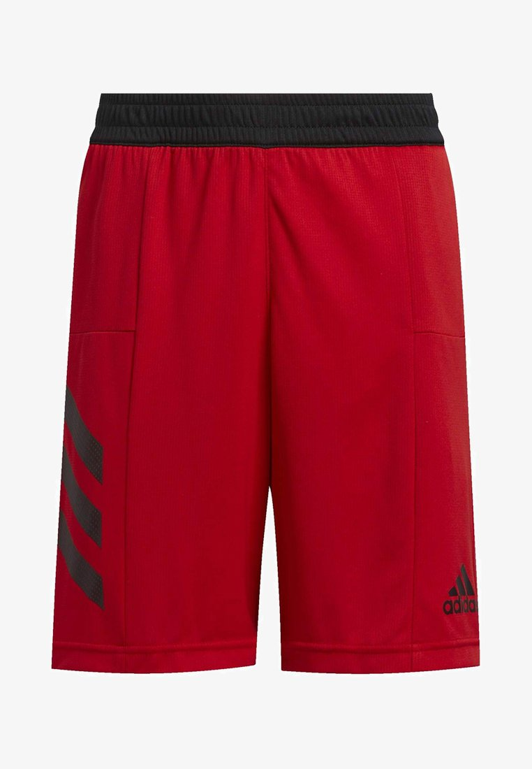 adidas Performance - SPORT 3-STRIPES SHORTS - Sports shorts - red