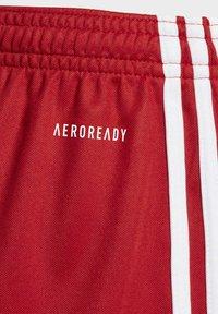 adidas Performance - SQUADRA 17 SHORTS - kurze Sporthose - red - 3