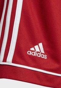 adidas Performance - SQUADRA 17 SHORTS - kurze Sporthose - red - 4