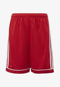 adidas Performance - SQUADRA 17 SHORTS - kurze Sporthose - red - 0