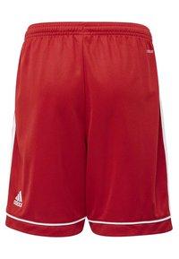 adidas Performance - SQUADRA 17 SHORTS - kurze Sporthose - red - 1