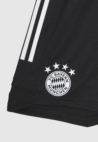 adidas Performance - FC BAYERN MÜNCHEN TEAMLINE - Sportovní kraťasy - black/fcbtru - 3